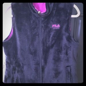 Reversible Fila Winter running vest